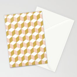 Making Marks Cube Illusion Light Stationery Card