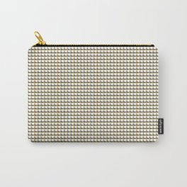 Making Marks Dots Mustard Navy White Carry-All-Pouch