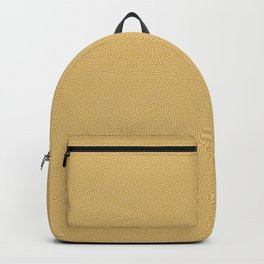 Making Marks Textured Surface Mustard Pink Backpack