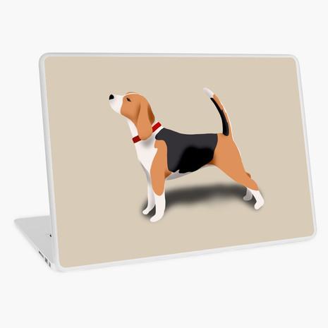 Beagle Laptop Skin
