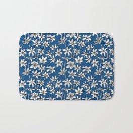 Blue Glory of the Snow Bath Mat