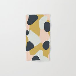 Making Marks Layered Shapes Bath Towel