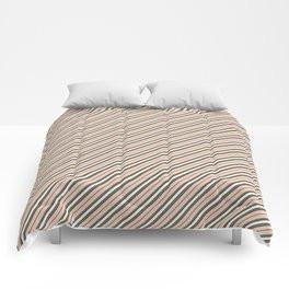 Making Marks Diagonal Stripes Comforter