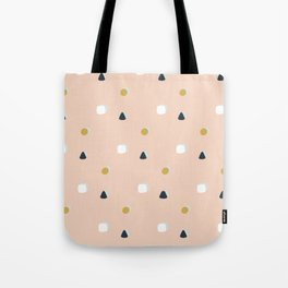 Making Marks Ditsy Shapes Tote Bag