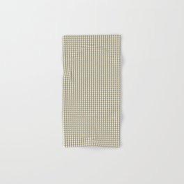 Making Marks Dots Mustard Navy White Bath Towel