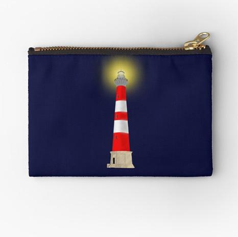 Lighthouse Zipper Pouch