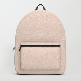 Making Marks Textured Surface Pink White Backpack