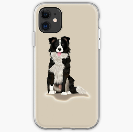 Border Collie iPhone Soft Case