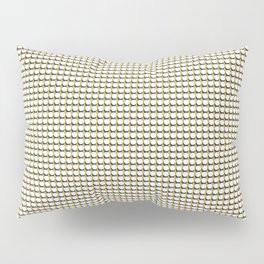 Making Marks Dots Mustard Navy White Pillow Sham