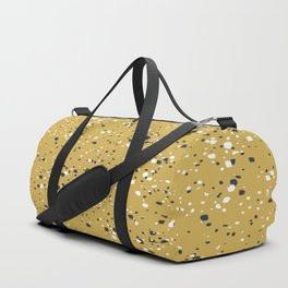 Making Marks Splatter Mustard Duffle Bag