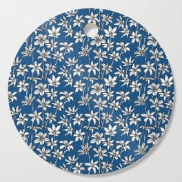 Blue Glory of the Snow Cutting Board