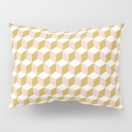 Making Marks Cube Illusion Light Pillow Sham