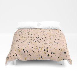 Making Marks Splatter Pink Duvet Cover