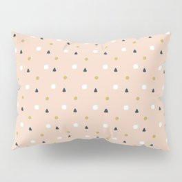 Making Marks Ditsy Shapes Pillow Sham
