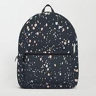 Making Marks Splatter Navy Backpack