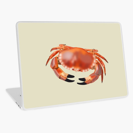 Crab Laptop Skin