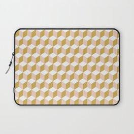 Making Marks Cube Illusion Light Laptop Sleeve