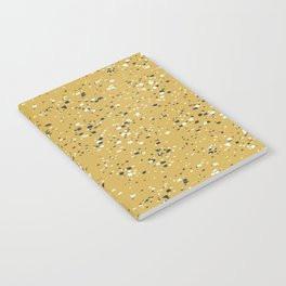 Making Marks Splatter Mustard Notebook
