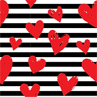 Red Heart Stripes