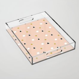 Making Marks Ditsy Shapes Acrylic Tray