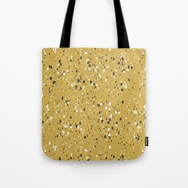 Making Marks Splatter Mustard Tote Bag