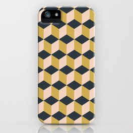 Making Marks Cube Illusion Dark iPhone Case