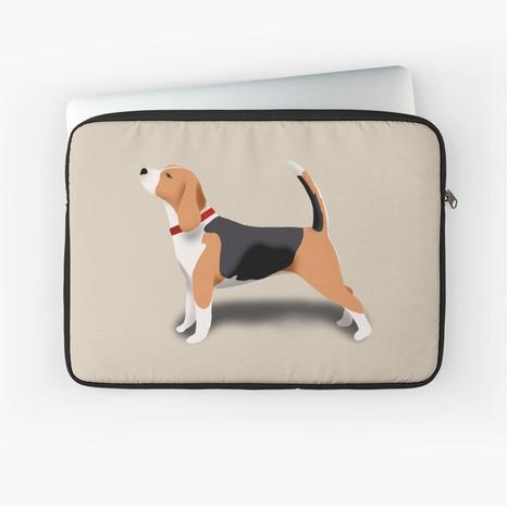Beagle Laptop Sleeve