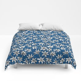 Blue Glory of the Snow Comforter