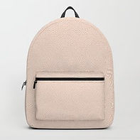 Making Marks Textured Surface Pink/White Backpack