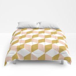 Making Marks Cube Illusion Light Comforter