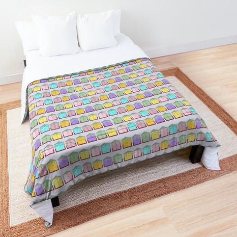 Beach Hut Comforter