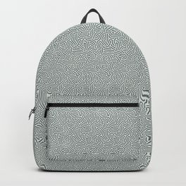 Making Marks Textured Surface Grey Navy Backpack