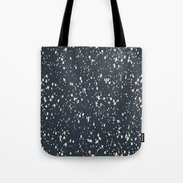 Making Marks Splatter Navy Tote Bag
