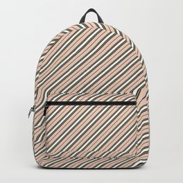 Making Marks Diagonal Stripes Backpack