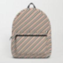 Making Marks Diagonal Stripes Backpack