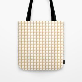 Making Marks Dots Pink Mustard White Tote Bag