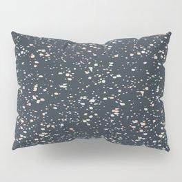 Making Marks Splatter Navy Pillow Sham