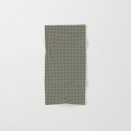 Making Marks Dots Navy Mustard Grey Bath Towel