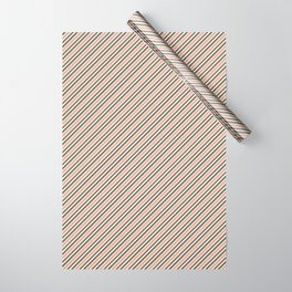 Making Marks Diagonal Stripes Wrapping Paper