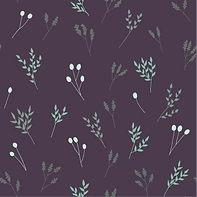 Purple Floral Branches