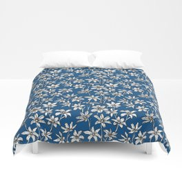 Blue Glory of the Snow Duvet Cover