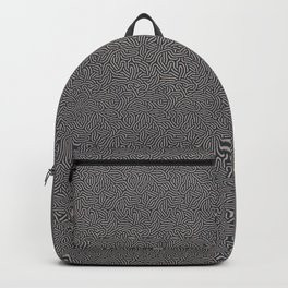 Making Marks Textured Surface Navy Pink Backpack
