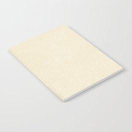 Making Marks Textured Surface White Mustard Notebook