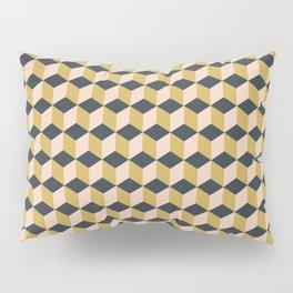 Making Marks Cube Illusion Dark Pillow Sham