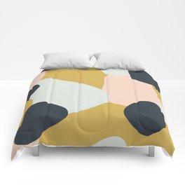 Making Marks Layered Shapes Comforter