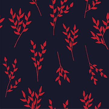 Navy/Red Branches