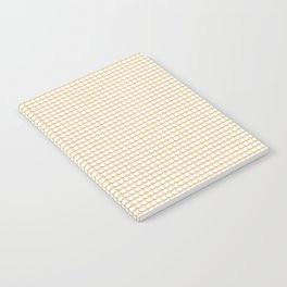 Making Marks Dots Pink Mustard White Notebook