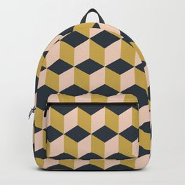 Making Marks Cube Illusion Dark Backpack