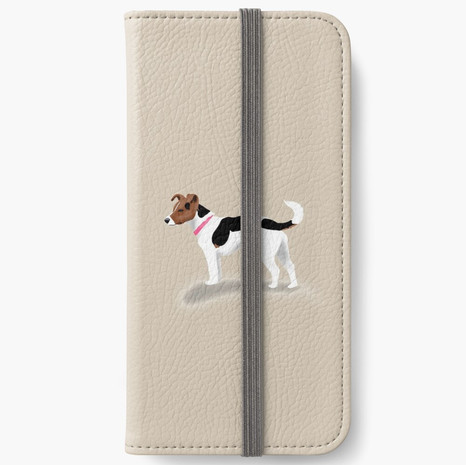 Jack Russell iPhone Wallet