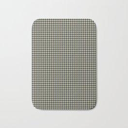 Making Marks Dots Navy Mustard Grey Bath Mat